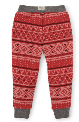 Ralph Lauren Fair Isle Fleece Sweatpant