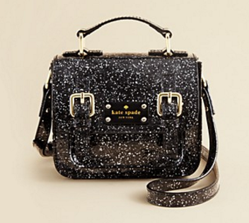 Kate Spade New York Girls' Scout Glitter Crossbody