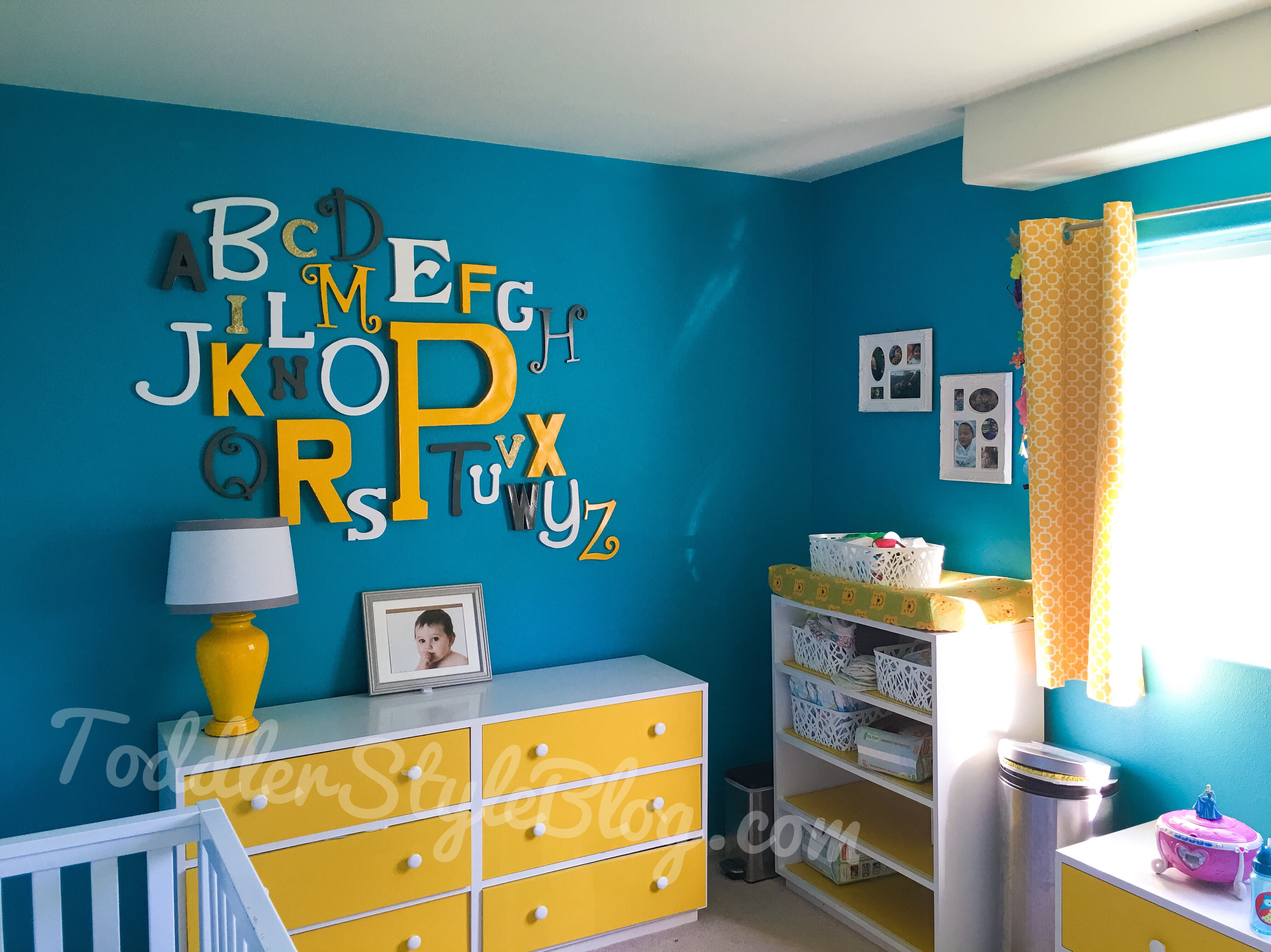 Our inexpensive DIY gender neutral bedroom From nursery to